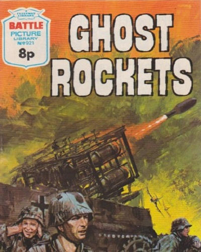 Cover for Battle Picture Library (IPC, 1961 series) #921