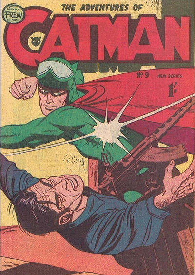 Cover for The Adventures of Catman (Frew Publications, 1958 series) #9
