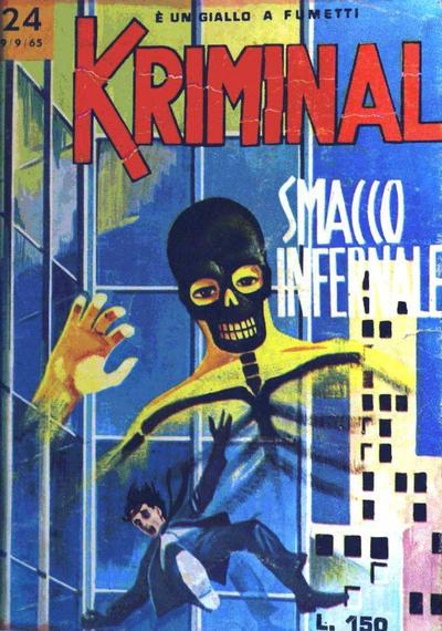 Cover for Kriminal (Editoriale Corno, 1964 series) #24
