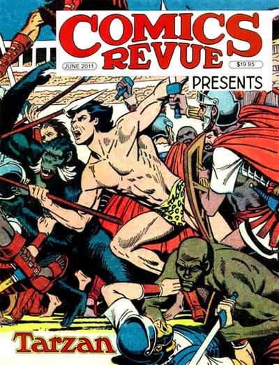 Cover for Comics Revue (Manuscript Press, 1985 series) #301-302