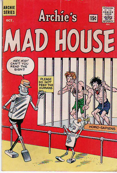 Cover for Archie's Madhouse (Archie, 1959 series) #22