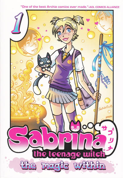Cover for Sabrina the Teenage Witch: The Magic Within (Archie, 2013 series) #1