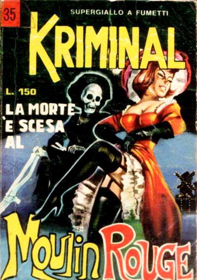 Cover for Kriminal (Editoriale Corno, 1964 series) #35
