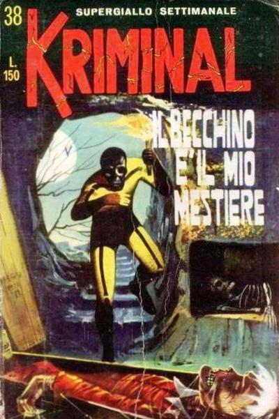 Cover for Kriminal (Editoriale Corno, 1964 series) #38