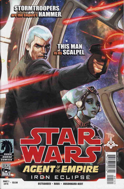 Cover for Star Wars: Agent of the Empire - Iron Eclipse (Dark Horse, 2011 series) #1