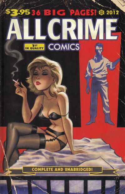 Cover for All Crime Comics (Art of Fiction, 2012 series) #1