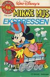 Cover for Donald Pocket (Hjemmet / Egmont, 1968 series) #46 - Mikke Mus ekspressen [1. opplag]
