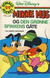 Cover Thumbnail for Donald Pocket (1968 series) #29 - Mikke Mus og den grønne sfinxens gåte [1. opplag]