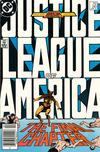 Cover for Justice League of America (DC, 1960 series) #261 [Direct Edition]