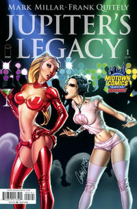 Cover Thumbnail for Jupiter's Legacy (Image, 2013 series) #1 [J. Scott Campbell Midtown Comics variant cover]