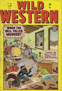 Cover Thumbnail for Wild Western (Bell Features, 1948 series) #8