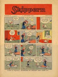 Cover Thumbnail for Skippern (Allers Forlag, 1947 series) #19/1950