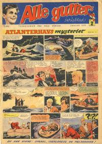 Cover Thumbnail for Alle Gutters Serieblad (Halvorsen & Larsen, 1952 series) #2/1953