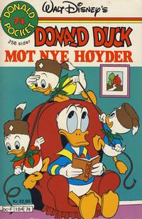 Cover Thumbnail for Donald Pocket (Hjemmet / Egmont, 1968 series) #74 - Donald Duck mot nye høyder [1. opplag]