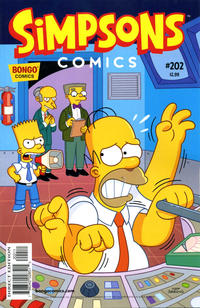 Cover Thumbnail for Simpsons Comics (Bongo, 1993 series) #202