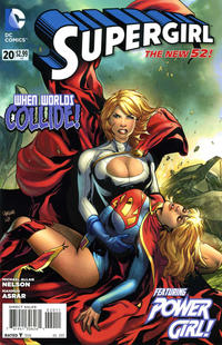 Cover Thumbnail for Supergirl (DC, 2011 series) #20