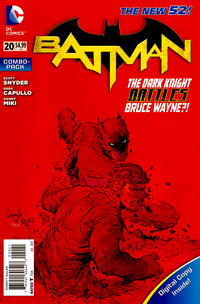 Cover Thumbnail for Batman (DC, 2011 series) #20 [Combo-Pack]