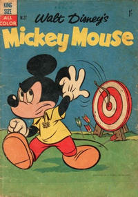 Cover Thumbnail for Walt Disney's Mickey Mouse (W. G. Publications; Wogan Publications, 1956 series) #27