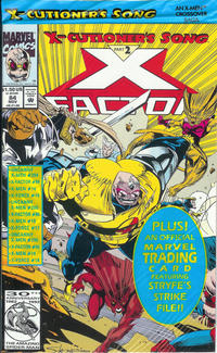 Cover Thumbnail for X-Factor (Marvel, 1986 series) #84 [Direct Edition]