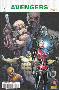 Cover Thumbnail for Ultimate Avengers (Panini France, 2010 series) #2