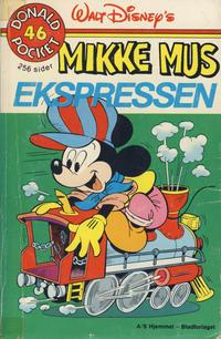 Cover Thumbnail for Donald Pocket (Hjemmet / Egmont, 1968 series) #46 - Mikke Mus ekspressen [1. opplag]
