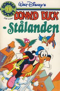 Cover Thumbnail for Donald Pocket (Hjemmet / Egmont, 1968 series) #28 - Stålanden [1. opplag]