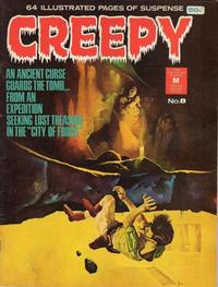 Cover Thumbnail for Creepy (K. G. Murray, 1974 series) #8