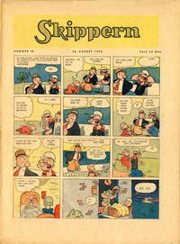 Cover Thumbnail for Skippern (Allers Forlag, 1947 series) #18/1950