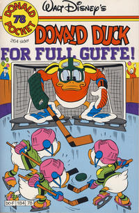 Cover Thumbnail for Donald Pocket (Hjemmet / Egmont, 1968 series) #78 - Donald Duck For full guffe! [1. opplag]