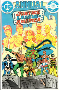 Cover Thumbnail for Justice League of America Annual (DC, 1983 series) #2 [Direct]