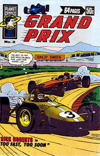 Cover Thumbnail for Grand Prix (K. G. Murray, 1977 series) #2