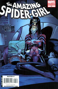 Cover Thumbnail for Amazing Spider-Girl (Marvel, 2006 series) #25 [Zombie Variant]