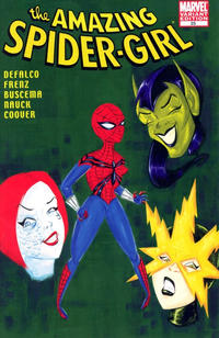 Cover Thumbnail for Amazing Spider-Girl (Marvel, 2006 series) #25 [Stephanie Buscema Variant cover]