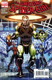 Cover Thumbnail for Amazing Spider-Girl (Marvel, 2006 series) #27 [Villain Variant]