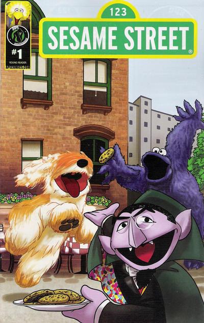 Cover for Sesame Street (Ape Entertainment, 2013 series) #1 [Cover C]