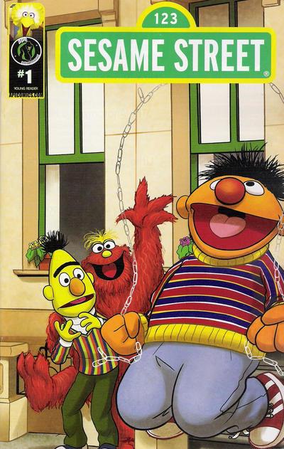 Cover for Sesame Street (Ape Entertainment, 2013 series) #1 [Cover E]