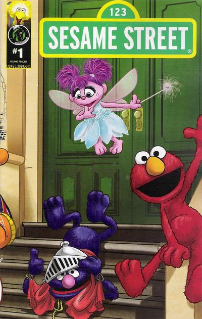 Cover for Sesame Street (Ape Entertainment, 2013 series) #1 [Super Power Cover]