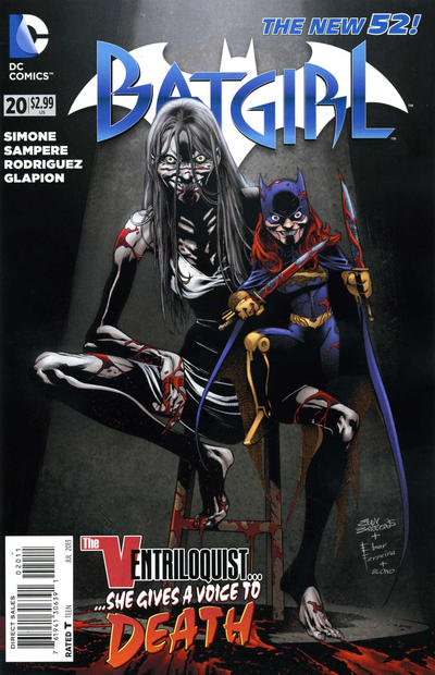 Cover for Batgirl (DC, 2011 series) #20