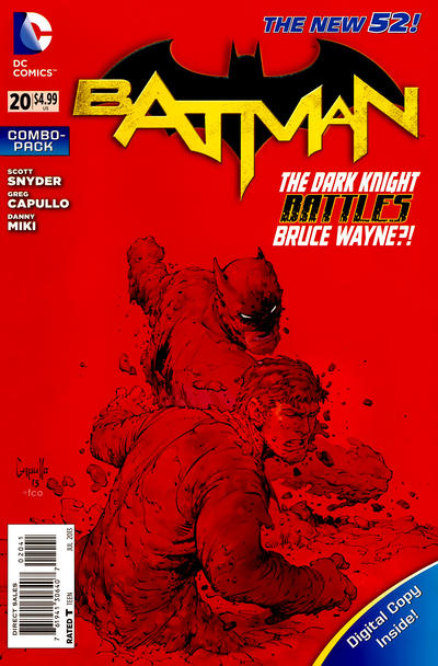 Cover for Batman (DC, 2011 series) #20 [Combo-Pack]