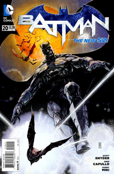 Cover for Batman (DC, 2011 series) #20 [Alex Maleev Cover]