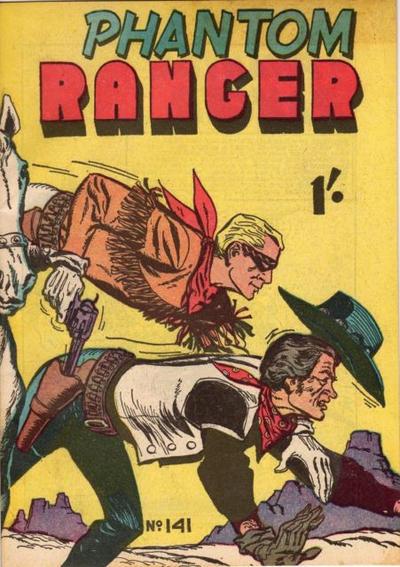 Cover for The Phantom Ranger (Frew Publications, 1948 series) #141