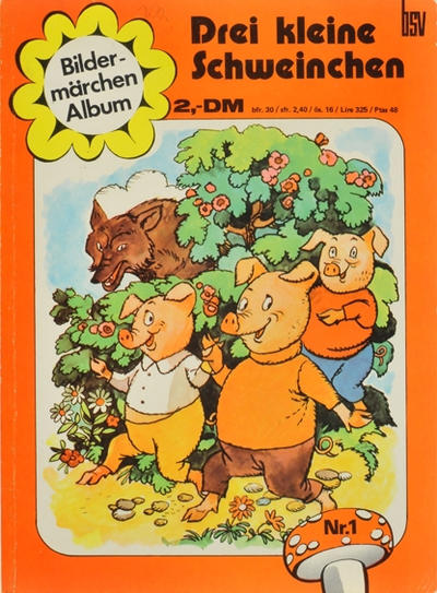 Cover for Bildermärchen Album (BSV - Williams, 1972 series) #1
