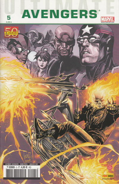 Cover for Ultimate Avengers (Panini France, 2010 series) #5