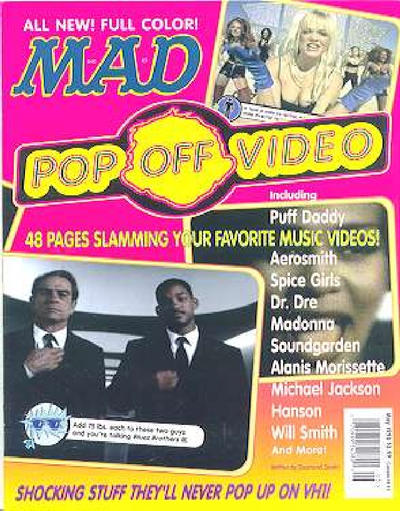 Cover for Mad Pop Off Video (EC, 1998 series)  [Direct Edition]