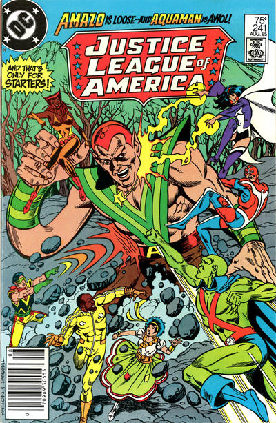 Cover for Justice League of America (DC, 1960 series) #241 [Direct Sales]