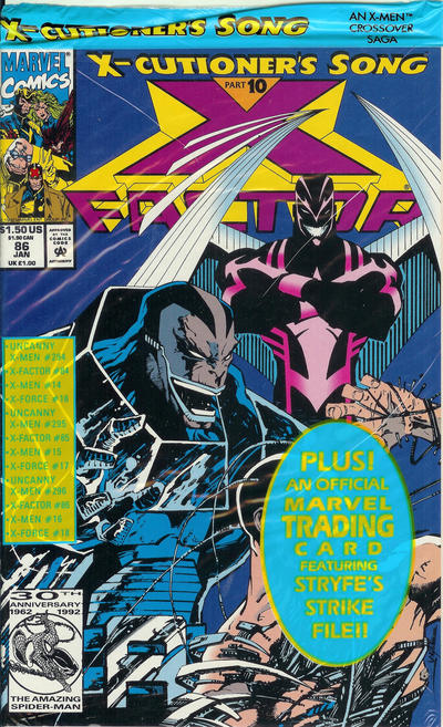 Cover for X-Factor (Marvel, 1986 series) #86 [Direct Edition]