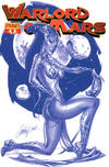 Cover for Warlord of Mars (Dynamite Entertainment, 2010 series) #4 [J. Scott Campbell Blue Retailer Incentive Cover]