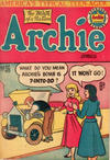 Cover for Archie Comics (H. John Edwards, 1950 ? series) #36