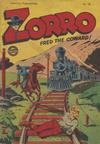 Cover for Zorro (L. Miller & Son, 1952 series) #58