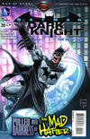 Cover for Batman: The Dark Knight (DC, 2011 series) #20 [Direct Sales]